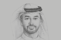 Sketch of <p>Ahmed bin Sulayem, Chairman, Dubai Multi Commodities Centre (DMCC)</p>