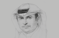 Sketch of <p>Sami Al Qamzi, Director-General, Department of Economic Development (DED)</p>