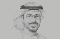 Sketch of <p>Hamed Ali, CEO, Nasdaq Dubai</p>