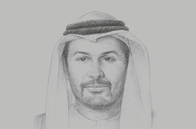 Sketch of <p>Saif Mohamed Al Hajeri, Chairman, Abu Dhabi Department of Economic Development</p>