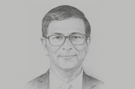 Sketch of <p>Ganeshan Wignaraja, Executive Director, Lakshman Kadirgamar Institute</p>