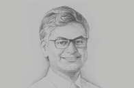 Sketch of <p>Krishan Balendra, Chairman, John Keells Holdings</p>