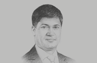 Sketch of <p>Dilshan Wirasekara, CEO, First Capital Holdings</p>