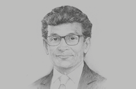 Sketch of <p>Thilan Wijesinghe, Chairman, National Agency for Public- Private Partnership (NAPPP)</p>