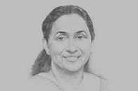 Sketch of <p>Champika Malalgoda, Director-General, Board of Investments (BOI)</p>
