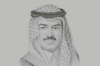 Sketch of <p>Ajlan Abdulaziz Alajlan, Chairman of the Board, Ajlan &amp; Bros; and Chairman, Riyadh Chamber of Commerce and Industry</p>