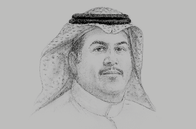 Sketch of <p>Khalid Al Hussan, CEO, Saudi Stock Exchange (Tadawul)</p>