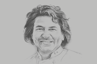 Sketch of <p>Gastón Acurio, Chef and Restaurateur</p>