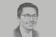 Sketch of <p>Vince Dizon, President and CEO, Bases Conversion and Development Authority</p>