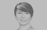 Sketch of <p>Lynette Ortiz, CEO, Standard Chartered Bank Philippines</p>