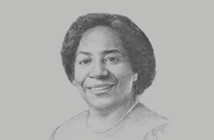 Sketch of <p>Chileshe Kapwepwe, Secretary-General, COMESA</p>