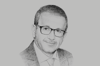 Sketch of <p>Bilel Sahnoun, CEO, Tunis Stock Exchange (Bourse des Valeurs Mobilières de Tunis, BVMT)</p>