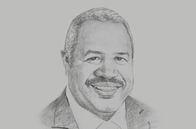 Sketch of <p>Powes Parkop, Governor of the National Capital District (NCD)</p>