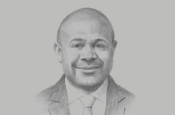 Sketch of <p>Anthony Smaré, Chairman, Nambawan Super</p>