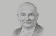Sketch of <p>Peter Botten, Managing Director, Oil Search</p>