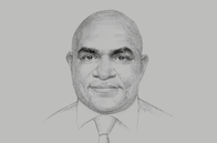 Sketch of <p>Wapu Sonk, Managing Director, Kumul Petroleum</p>