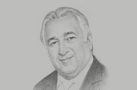 Sketch of <p>Miguel Torruco Marqués, Minister of Tourism</p>