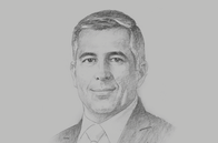 Sketch of <p>Carlos Serrano, Chief Economist, BBVA México</p>