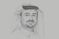 Sketch of <p>Najeeb Mohammed Al-Ali, Executive Director, Expo 2020 Dubai Bureau</p>