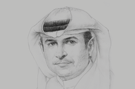 Sketch of <p>Sami Al Qamzi, Director-General, Department of Economic Development</p>