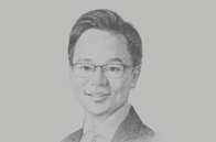 Sketch of <p>Melvyn Pun, CEO, Yoma Strategic Holdings</p>