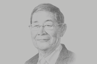 Sketch of <p>U Soe Win, Minister of Planning, Finance and Industry</p>