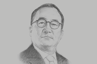 Sketch of <p>Stephen Suen, Chairman, Marga Group</p>
