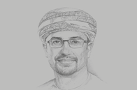 Sketch of <p>Abdulaziz Al Balushi, Group CEO, OMINVEST</p>