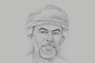 Sketch of <p>Abdullah Al Salmi, Executive President, Capital Market Authority</p>