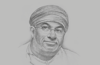 Sketch of <p>Yahya Said Al Jabri, Chairman, Duqm Special Economic Zone Authority (SEZAD)</p>
