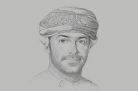 Sketch of <p>Azzan Al Busaidi, CEO, Public Authority for Investment Promotion and Export Development (Ithraa)</p>