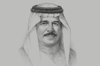 Sketch of <p>King Hamad bin Isa Al Khalifa</p>