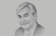 Sketch of <p>John-Christophe Durand, CEO, National Bank of Bahrain (NBB)</p>
