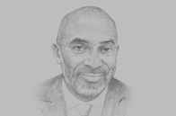 Sketch of <p>Yofi Grant, CEO, Ghana Investment Promotion Centre (GIPC)</p>