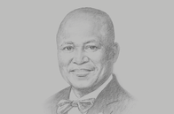 Sketch of <p>Yaw Adu Gyamfi, President, Association of Ghana Industries</p>