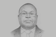 Sketch of <p>Ekow Afedzie, Managing Director, Ghana Stock Exchange (GSE)</p>