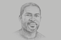 Sketch of <p>Kevin Okyere, CEO, Springfield Group</p>