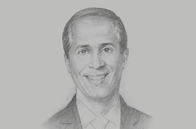 Sketch of <p>Nigel Baptiste, CEO, Republic Financial Holdings</p>