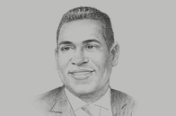 Sketch of <p>Gregory Hill, Managing Director, ANSA Merchant Bank</p>