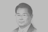 Sketch of <p> Li Yong, Director-General, UN Industrial Development Organisation (UNIDO)</p>