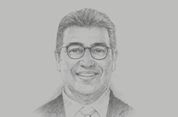 Sketch of <p>Hicham Boudraa, Acting Managing Director, Moroccan Investment and Export Development Agency</p>