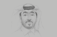 Sketch of <p>Fahad Rashid Al Kaabi, CEO, Manateq</p>