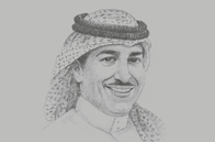 Sketch of <p>Anas Alfaris, President, King Abdulaziz City for Science and Technology (KACST)</p>