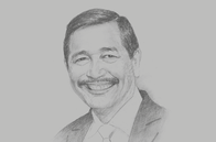 Sketch of <p>Luhut Pandjaitan, Coordinating Minister for Maritime Affairs and Investment</p>