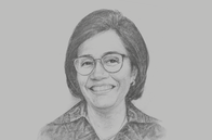 Sketch of <p>Sri Mulyani, Minister of Finance</p>