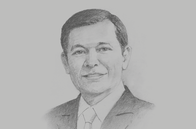 Sketch of <p>Batara Sianturi, CEO, Citibank Indonesia; and Chairperson, International Banks Association of Indonesia</p>