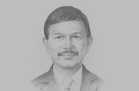Sketch of <p>Johnny Plate, Minister of Communication and Information Technology</p>