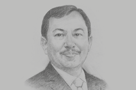 Sketch of <p>Terawan Agus Putranto, Minister of Health</p>