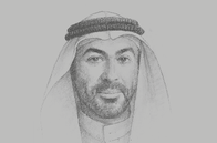 Sketch of <p>Ahmed Ali Al Sayegh, UAE Minister of State; and Chairman, Abu Dhabi Global Market (ADGM)</p>