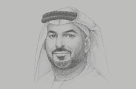 Sketch of <p>Mohamed Helal Almheiri, Director-General, Abu Dhabi Chamber of Commerce and Industry (ADCCI)</p>